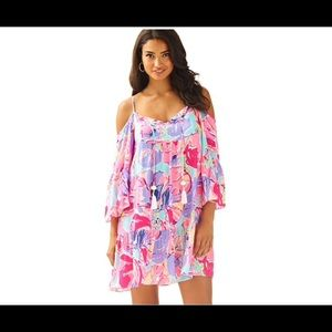 Lilly Pulitzer Alana Off the shoulder Boho dress